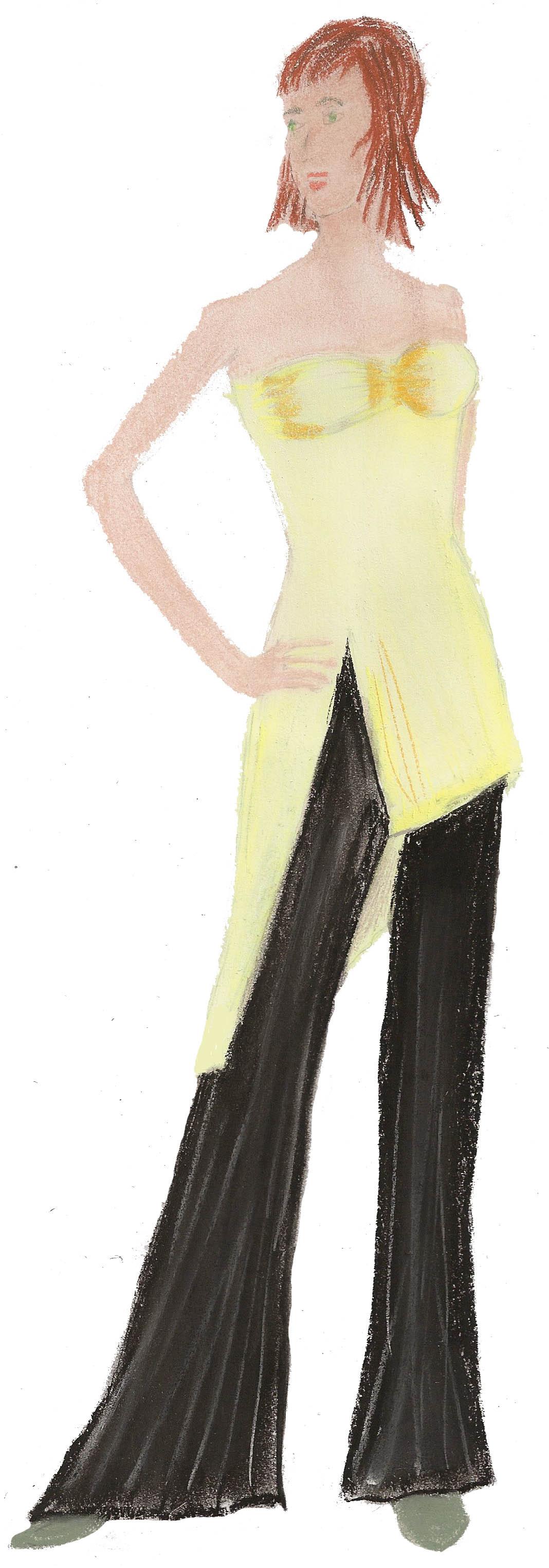 tunique et pantalon large